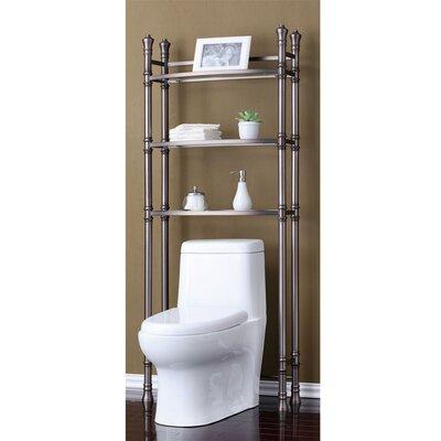 "Monaco 26"" W X 70.25"" H Over The Toilet Storage"