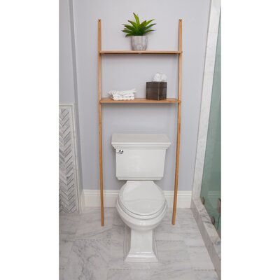"""Bamboo 25.98"""" W x 69.09"""" H Over-the-Toilet BB100320"""