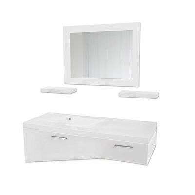 Ciara 47 Single Bathroom Vanity Set with Mirror