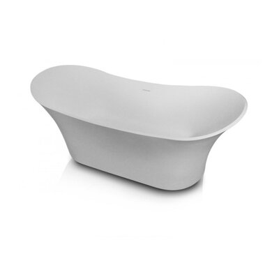 Acadia 68.89 x 28.75 Freestanding Soaking Bathtub