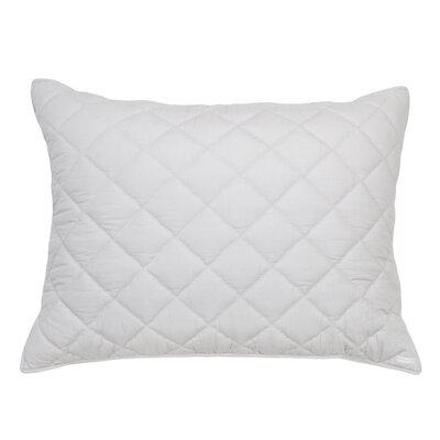 Percale Cotton Lumbar Pillow Color: Light Gray