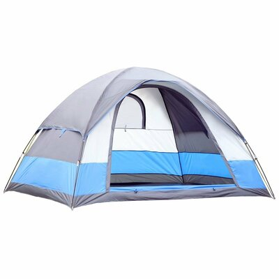 Semoo Water Resistant Lightweight 5 Person Tent with Carry Bag