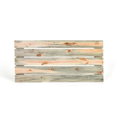 Slat Headboard Size: Queen, Color: Unfinished