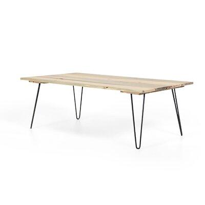 Slat Coffee Table Base Color: Black Satin