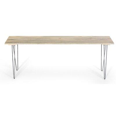 Slat Style Entry Table