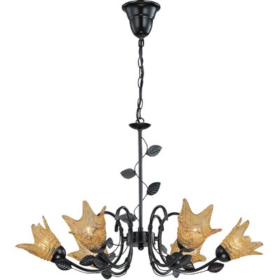 Lillie 6-Light Shaded Chandelier