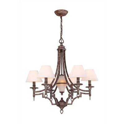 Glenda 6-Light Shaded Chandelier