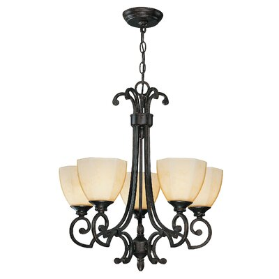 Maxine 5-Light Shaded Chandelier