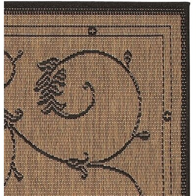 Charlene Cocoa Area Rug Rug Size: Rectangle 2 x 37