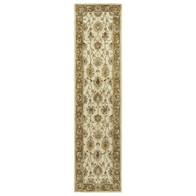 Mary Linen Floral Area Rug Rug Size: 9 x 12