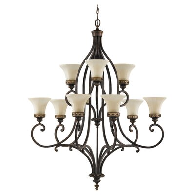 Linda 9-Light Shaded Chandelier
