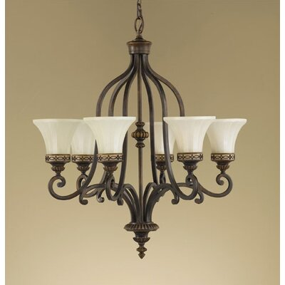 Linda 6-Light Shaded Chandelier