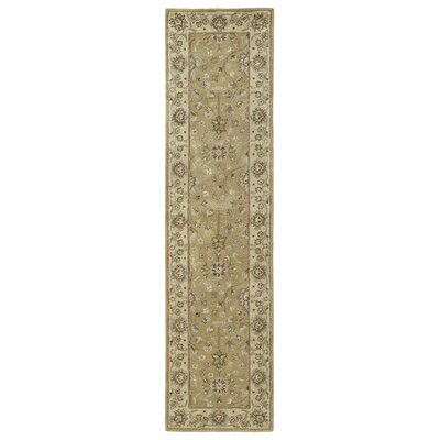 Mary Camel Floral Area Rug Rug Size: Runner 26 x 10