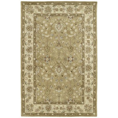 Mary Camel Floral Area Rug Rug Size: Rectangle 9 x 12