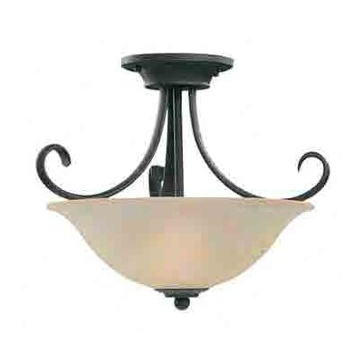 Barbara 2-Light Semi Flush Mount