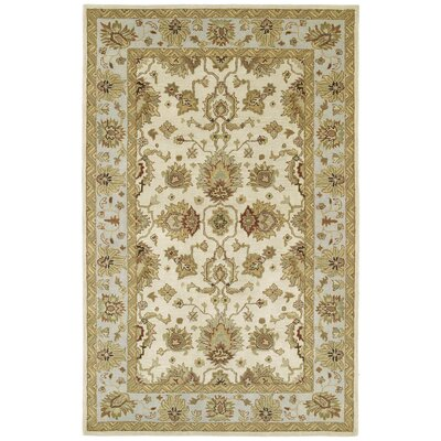 Mary Ivory Floral Area Rug Rug Size: 4' x 6'