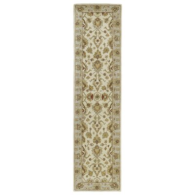 Mary Ivory Floral Area Rug Rug Size: Runner 26 x 10