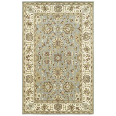Mary Blue Area Rug Rug Size: Rectangle 2' x 3'