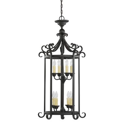 Barbara 8-Light Foyer Pendant