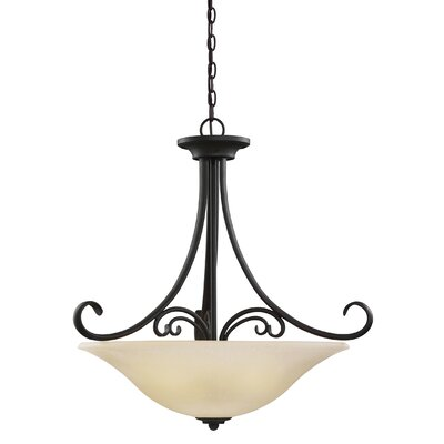 Barbara 4-Light Bowl Pendant
