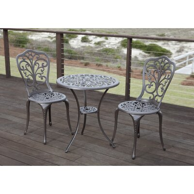 Nancy 3 Piece Bistro Set