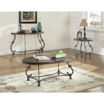 Como 3 Piece Coffee Table Set