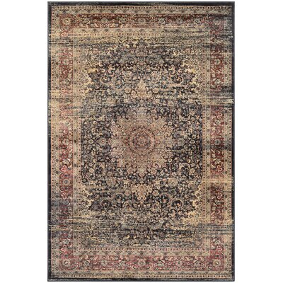 Cotaco Black/Oatmeal Area Rug Rug Size: Rectangle 92 x 125