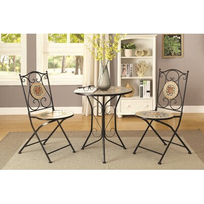 Abshire 3 Piece Dining Set