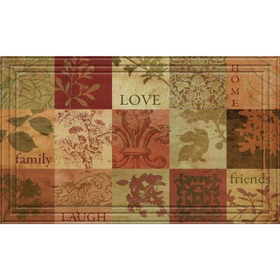 Pamela Patchwork Squares Doormat