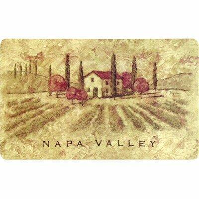 Ann Napa Valley Kitchen Mat