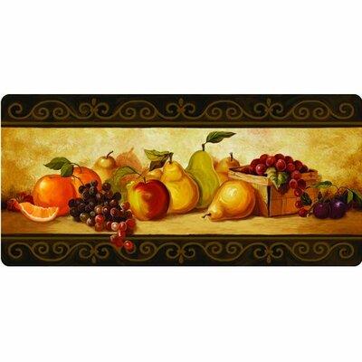Ann Gourmet Fruit Kitchen Mat