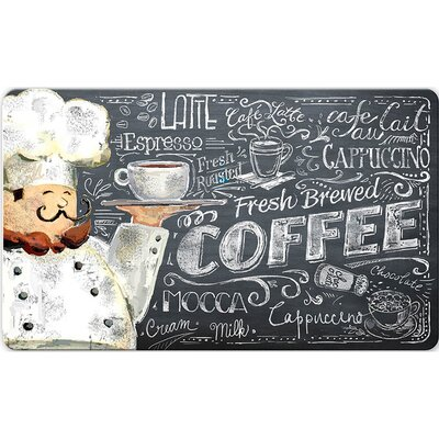 Ann Coffee Chef Kitchen Mat