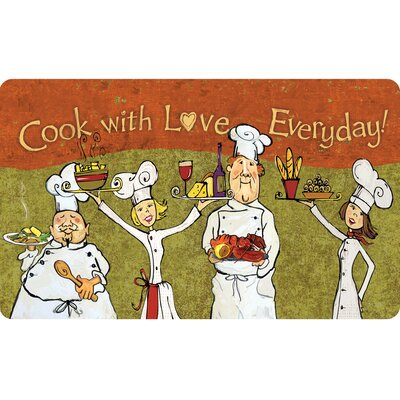Ann Cook with Love Everyday Kitchen Mat