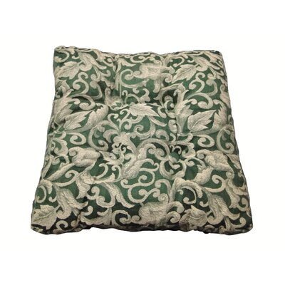 Paisley Dining Chair Cushion Color: Sage