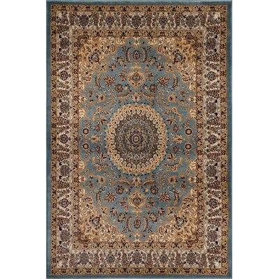 Heather Brown/Blue Area Rug Rug Size: Rectangle 9 x 12