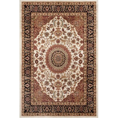 Heather Cream Area Rug Rug Size: Rectangle 33 x 5