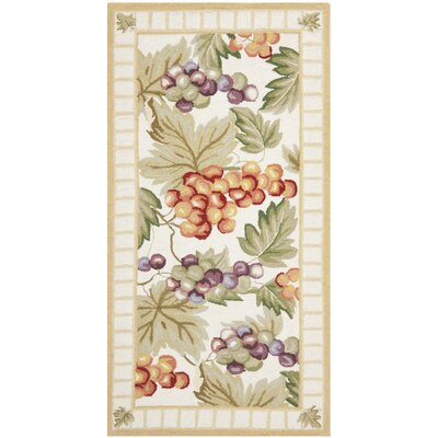 Brayton Ivory/Sage Area Rug Rug Size: Rectangle 26 x 5
