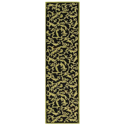 Brayton Floral Rug Rug Size: Runner 26 x 10
