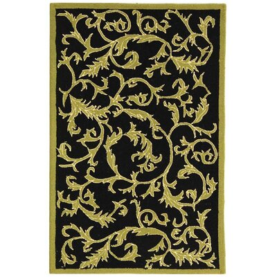 Brayton Floral Rug Rug Size: Rectangle 26 x 4