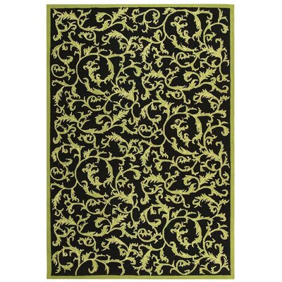 Brayton Floral Rug Rug Size: Rectangle 79 x 99