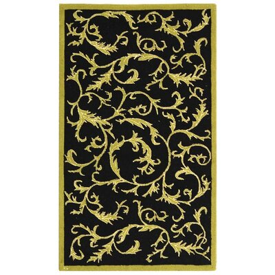 Brayton Floral Rug Rug Size: Rectangle 29 x 49
