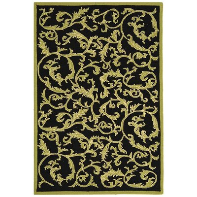 Brayton Floral Rug Rug Size: Rectangle 39 x 59