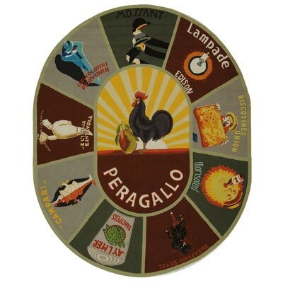 Barkman Novelty Area Rug Rug Size: Rectangle 53 x 83