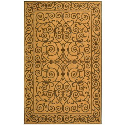 Brayton Yellow/Iron Gate Area Rug Rug Size: Rectangle 26 x 4