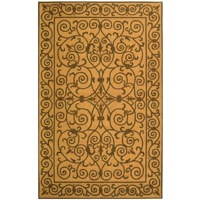 Brayton Yellow/Iron Gate Area Rug Rug Size: Rectangle 39 x 59