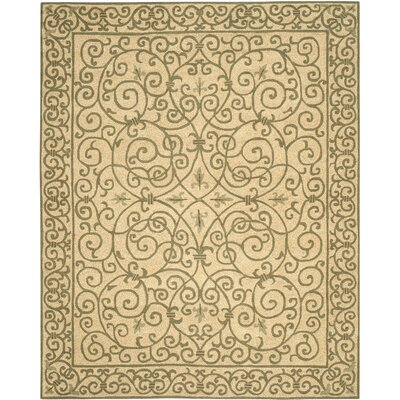 Brayton Yellow/Iron Gate Area Rug Rug Size: Rectangle 79 x 99