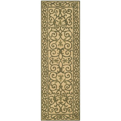 Brayton Yellow/Iron Gate Area Rug Rug Size: Runner 26 x 12
