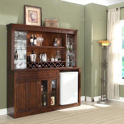 Chiaramonte Back Bar with Wine Storage