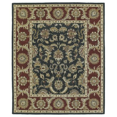 Chisolm King David Graphite Area Rug Rug Size: 2 x 3