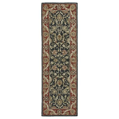Chisolm King David Graphite Area Rug Rug Size: Runner 26 x 8